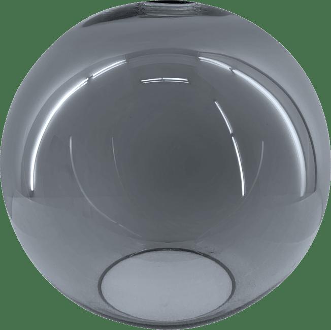 Coco Maison - gaby vervanging glas - diameter 20 cm - antraciet / blauw (37627)