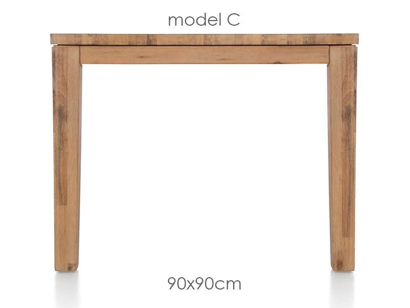 A La Carte - table 90 x 90 cm - cor