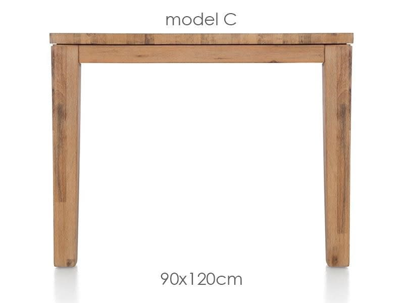 A La Carte - eetkamertafel 120 x 90 cm - cor
