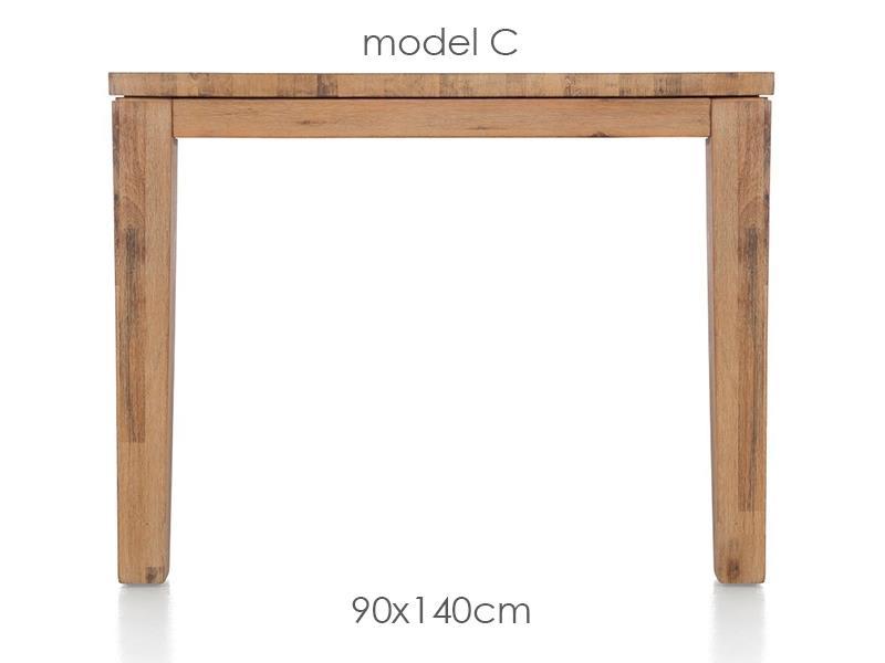A La Carte - eetkamertafel 140 x 90 cm - cor
