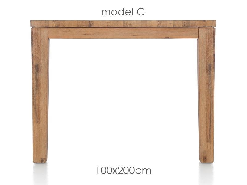 A La Carte - eetkamertafel 200 x 100 cm - cor