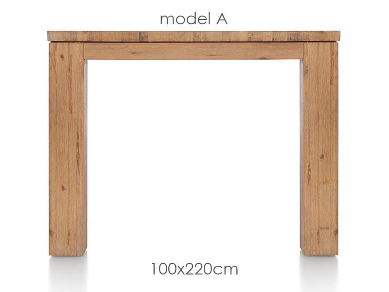 A La Carte - table 220 x 100 cm - aad