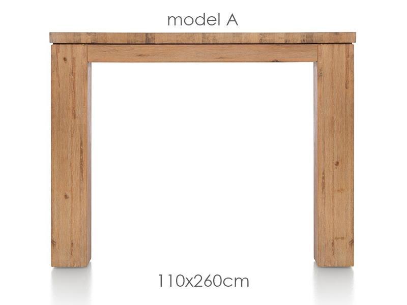 A La Carte - table 260 x 110 cm - aad
