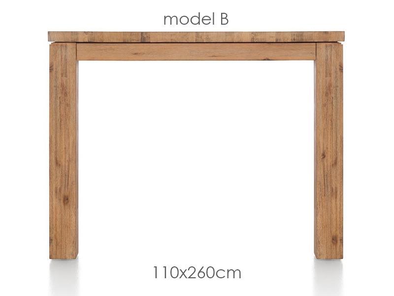 A La Carte - table 260 x 110 cm - ben