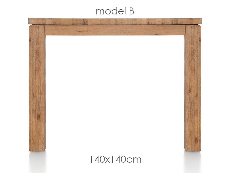 A La Carte - eetkamertafel 140 x 140 cm - ben