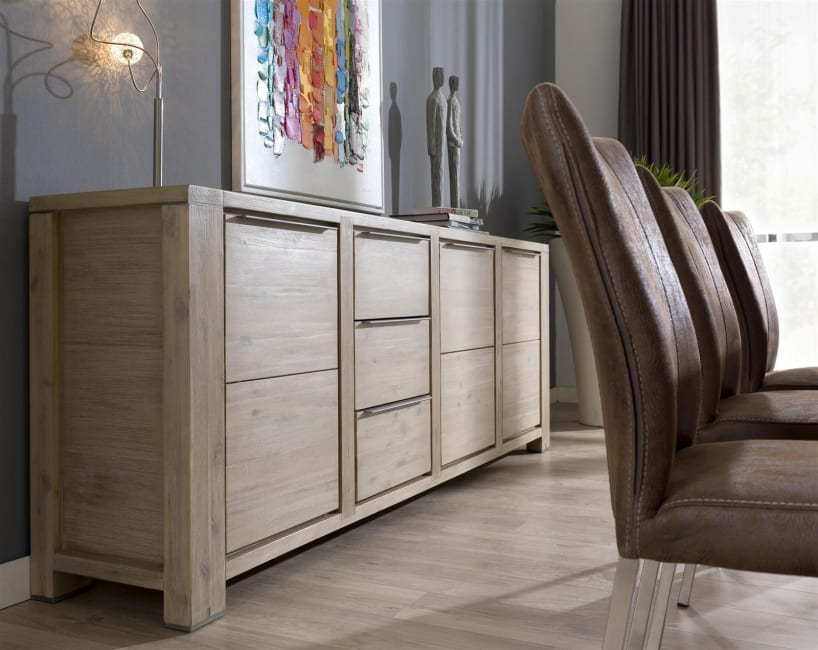 Buckley - sideboard 250 cm - 3-tueren + 3-laden