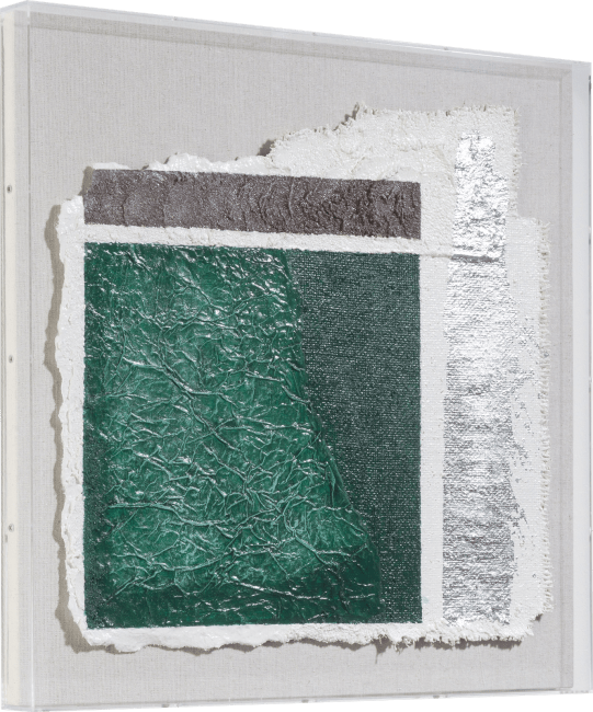 Happy@Home - Coco Maison - abstract parchment a wandobject 50x50cm