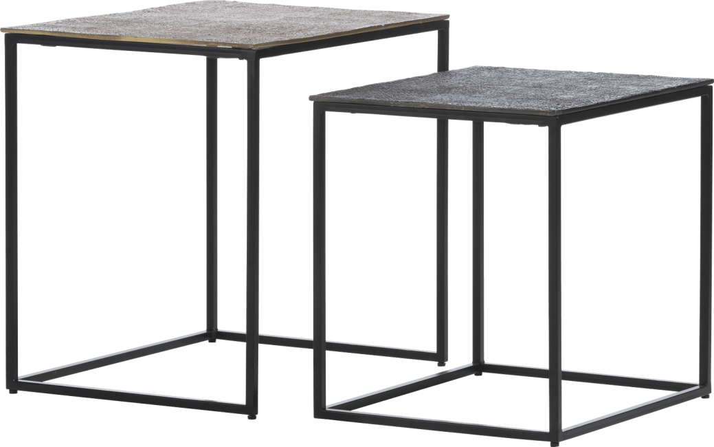 XOOON - Coco Maison - maggy set of 2 side tables h46-40cm