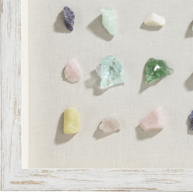 Happy@Home - Coco Maison - minerals wandobject 50x50cm