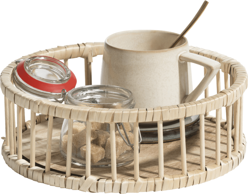 Happy@Home - Coco Maison - bamboo schaal d23cm