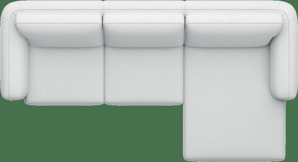 Henders & Hazel - Portland - Sofas - 2,5-Sitzer Armlehne links - Longchair rechts