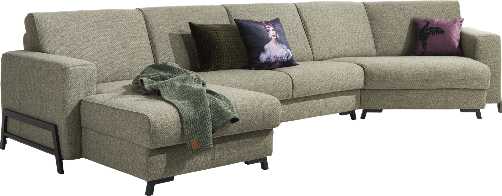 Henders and Hazel - Bergen - Industrie - Sofas - lounge-end rechts