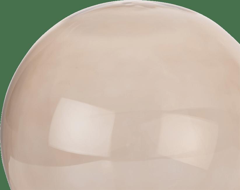 XOOON - Coco Maison - lia - vervanging glas - 15 cm transparant / bruin