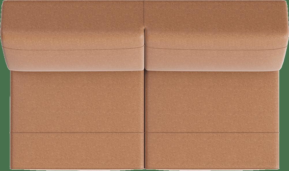 XOOON - Lima - Minimalistisches Design - Sofas - 3-sitzer ohne armlehnen