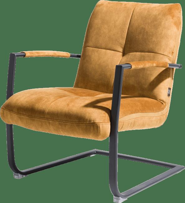 Henders and Hazel - Margrit - Modern - fauteuil met frame in rvs of zwart