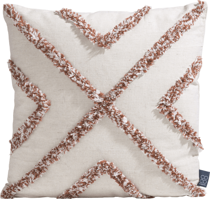 XOOON - Coco Maison - crisscross cushion 45x45cm