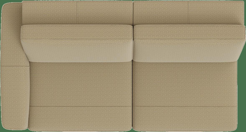 XOOON - Denver - Minimalistisches Design - Sofas - 3-sitzer armlehne links