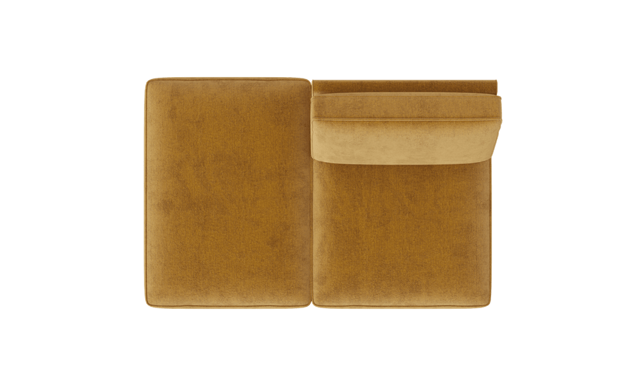 XOOON - Modena - design Scandinave - Toutes les canapés - ottomane small - gauche