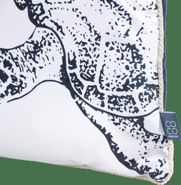 XOOON - Coco Maison - turtle set of 2 cushions 40x40cm