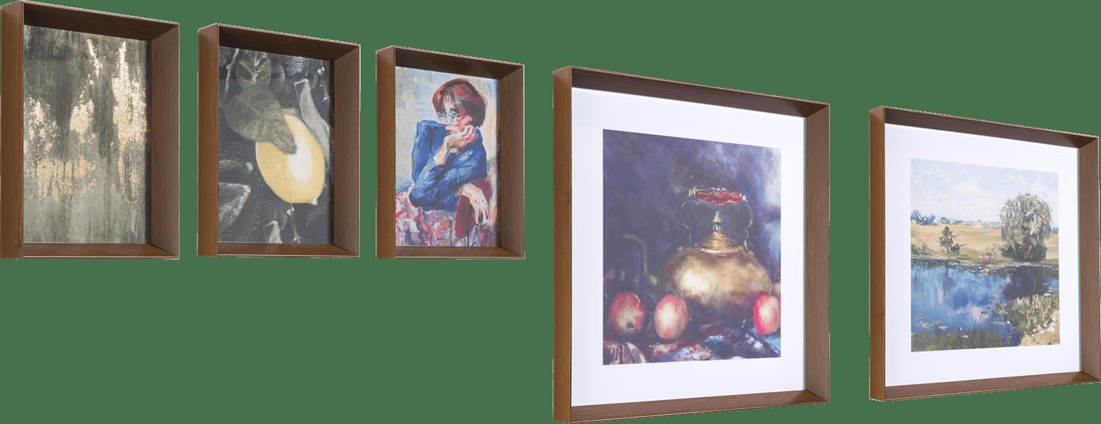 Happy@Home - Coco Maison - impressions set van 5 schilderijen