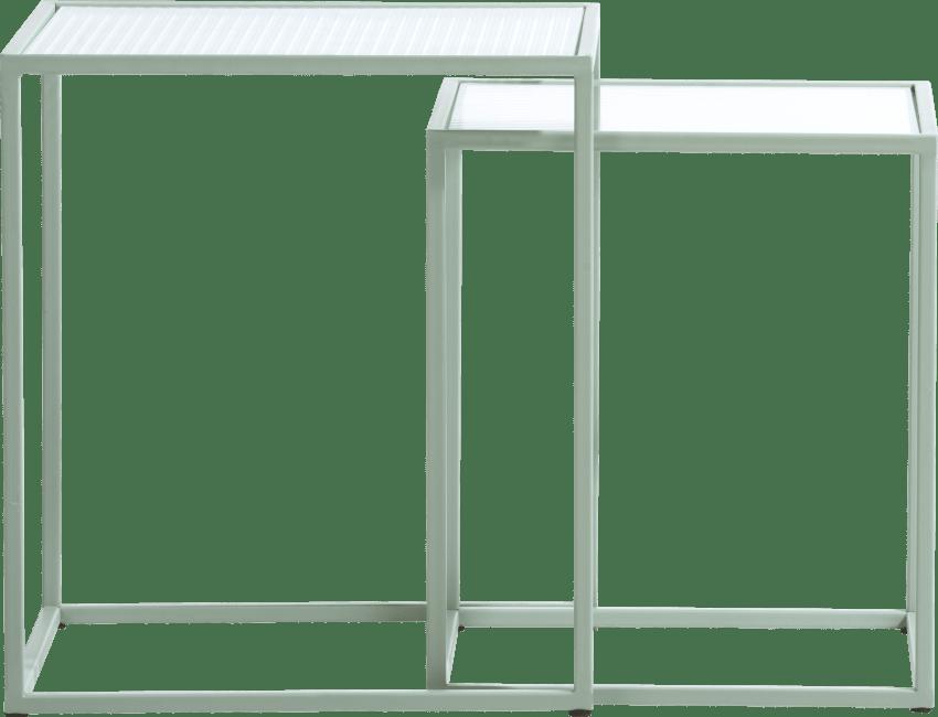 Happy@Home - Coco Maison - felix set van 2 bijzettafels h45-40cm