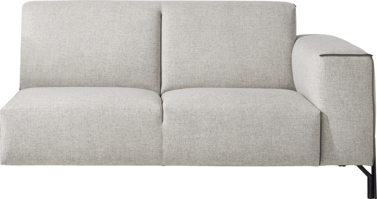 XOOON - Prizzi - Minimalistisch design - Banken - 2.5-zits arm rechts