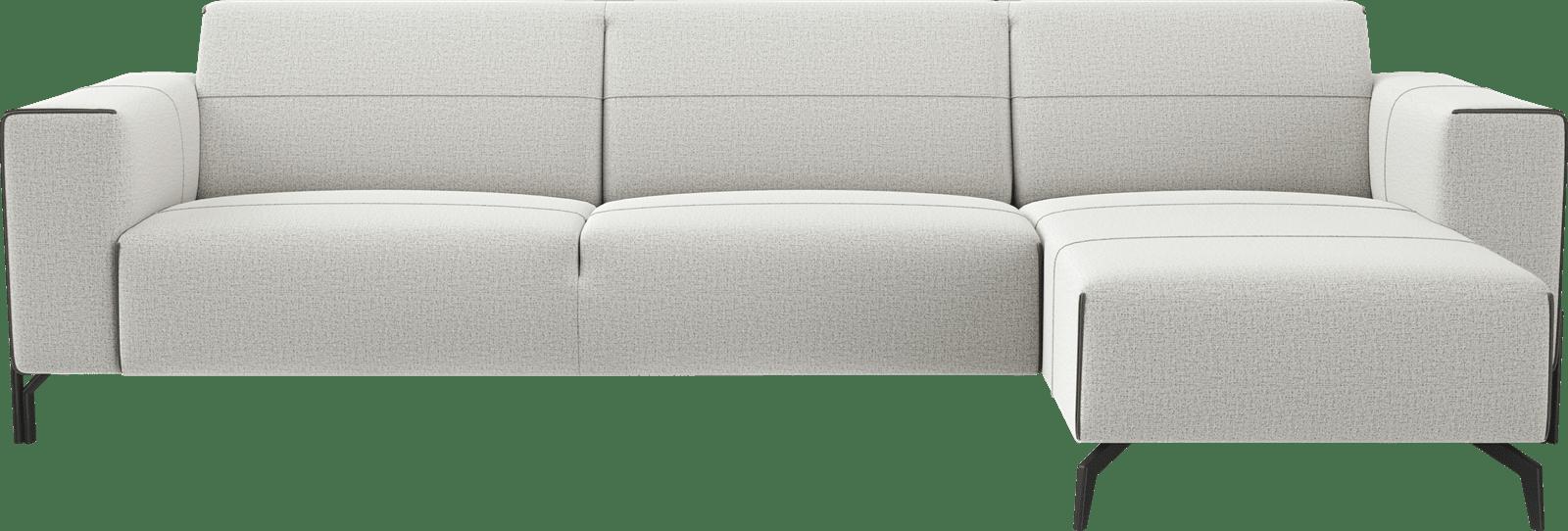 XOOON - Prizzi - Toutes les canapés - 2,5 places accoudoir gauche - Meridienne droite