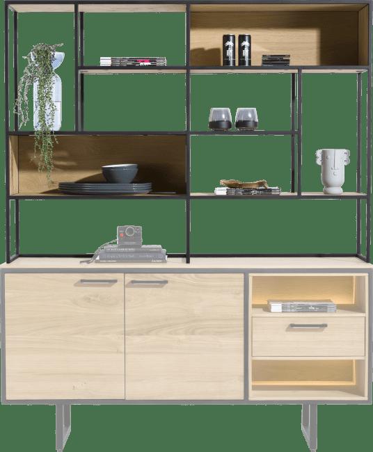 XOOON - Belo - bovenkast 150 cm. - 6-niches