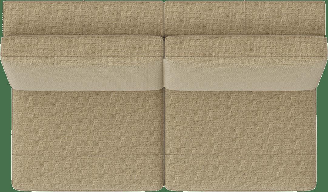 XOOON - Denver - Minimalistisches Design - Sofas - 3-sitzer ohne armlehnen