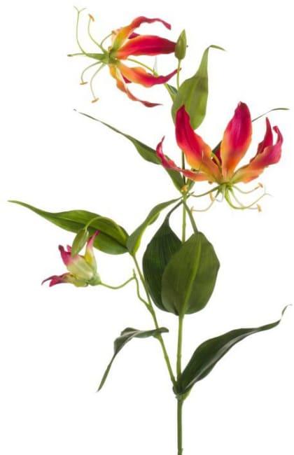XOOON - Coco Maison - gloriosa spray artificial flower h75cm