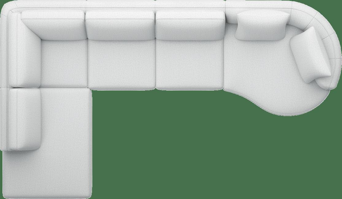 Henders and Hazel - Portland - Sofas - Ottomane rechts - 2,5-Sitzer ohne Armlehne - Lounge end small