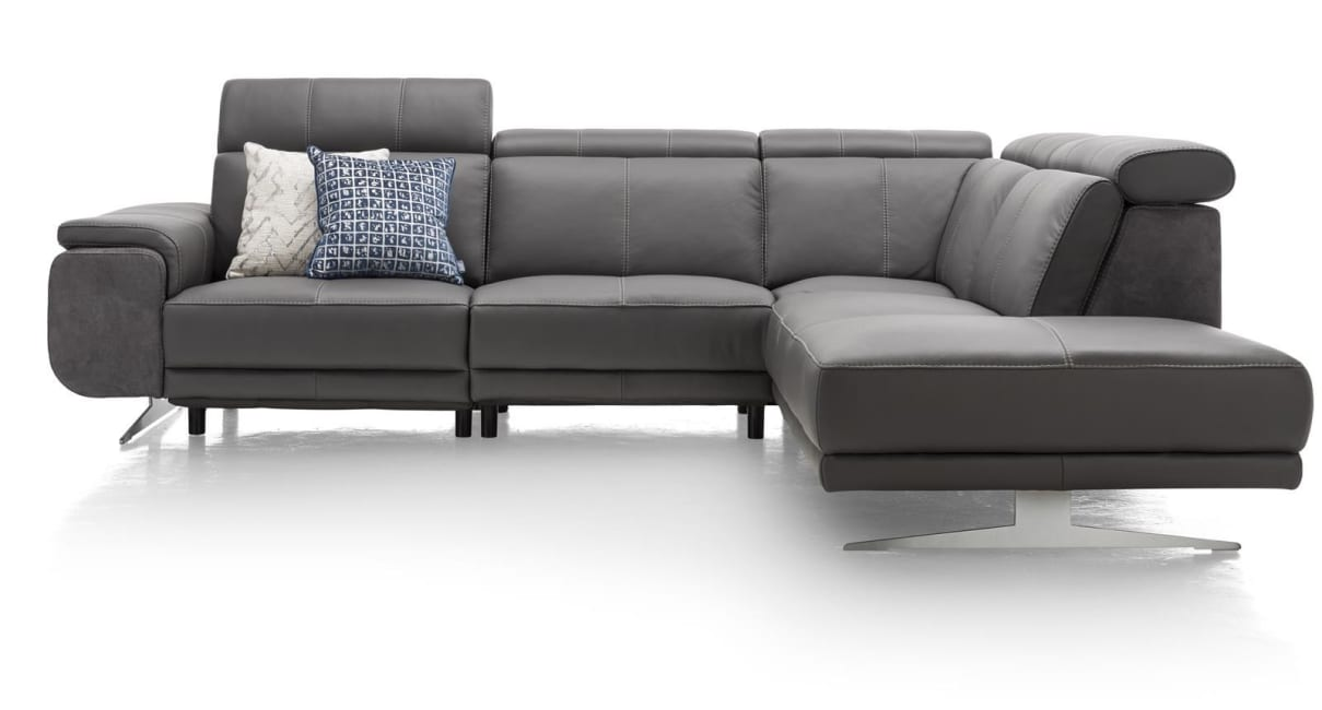 Henders and Hazel - Greymouth - Sofas - 2,5 Sitzer Armlehne links - Ottomane rechts