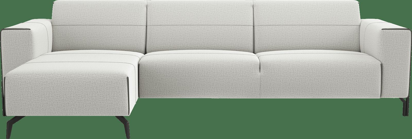XOOON - Prizzi - Salons - Longchair links - 2,5 zits arm rechts