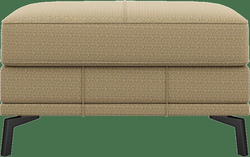 XOOON - Denver - Design minimaliste - Toutes les canapés - pouf - grand - 80 x 60 cm