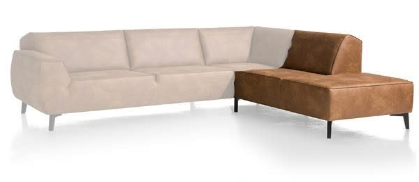 XOOON - Lima - Minimalistisches Design - Sofas - ottomane klein rechts