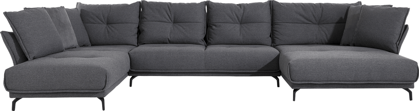 Henders & Hazel - Albi - Natuerlich - Sofas - 3-sitzer ohne armlehnen