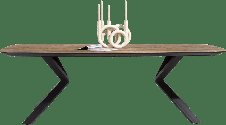 XOOON - Fresno - dining table 240 x 110 cm. - straight veneer