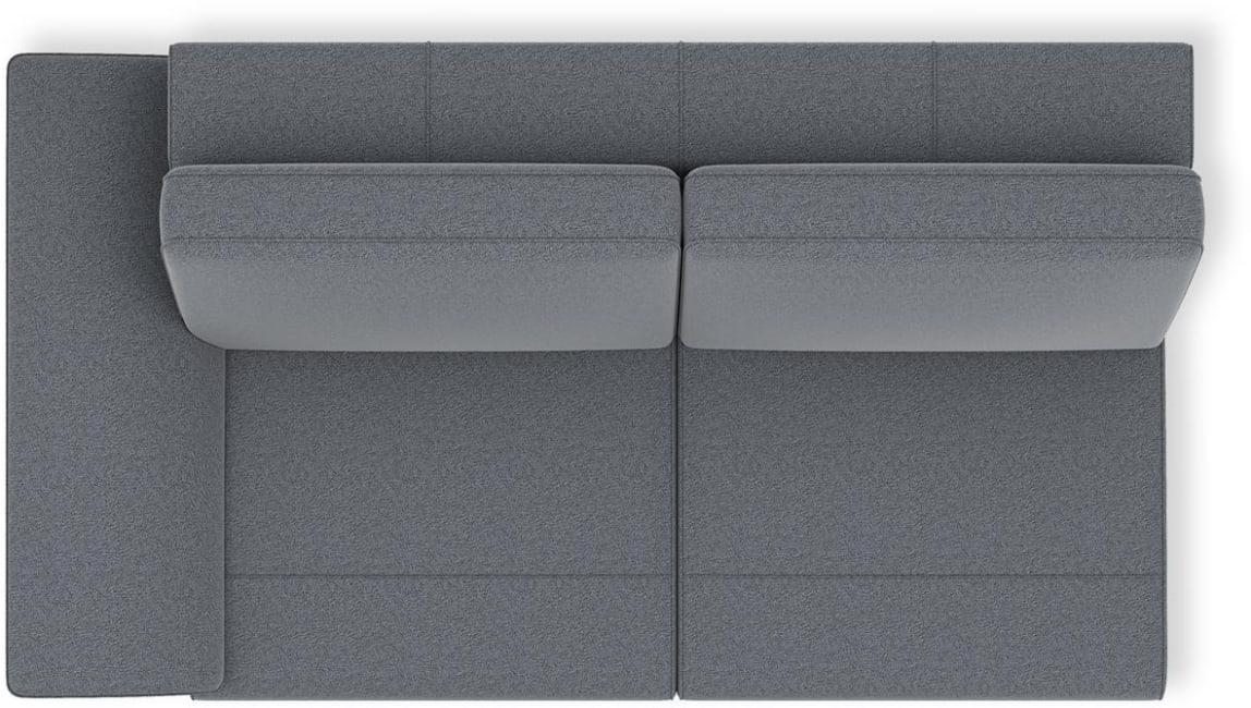 H&H - Napels - Moderne - 2.5-places accoudoir gauche