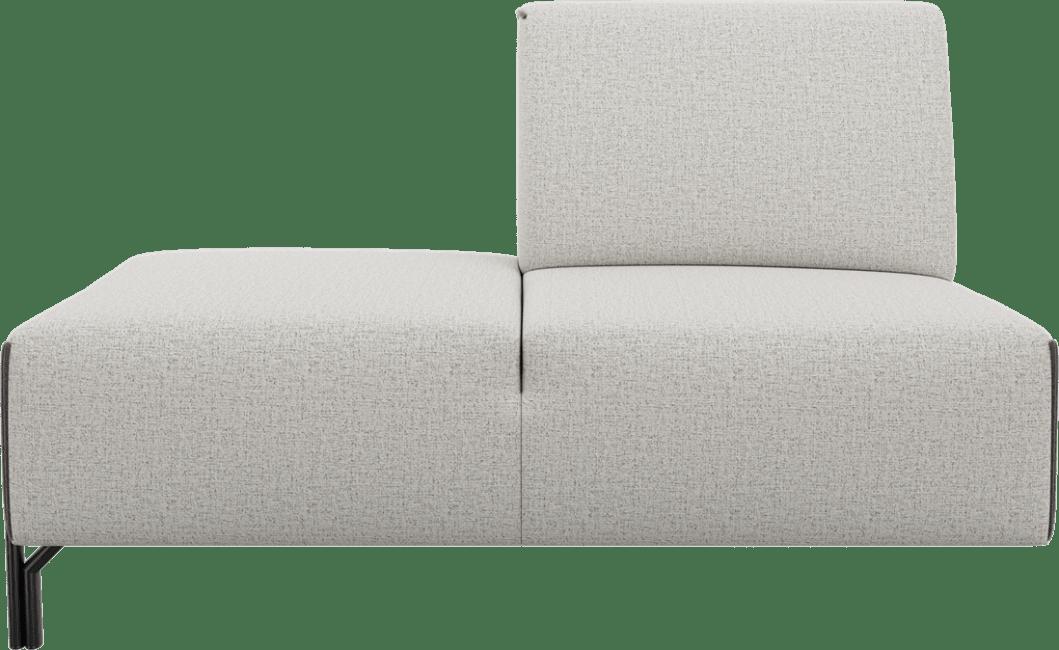 XOOON - Prizzi - Design minimaliste - Canapes - ottomane petite - gauche