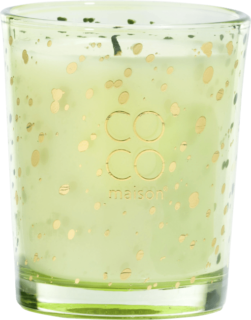 XOOON - Coco Maison - box with 3 scented candles lemongrass & ginger