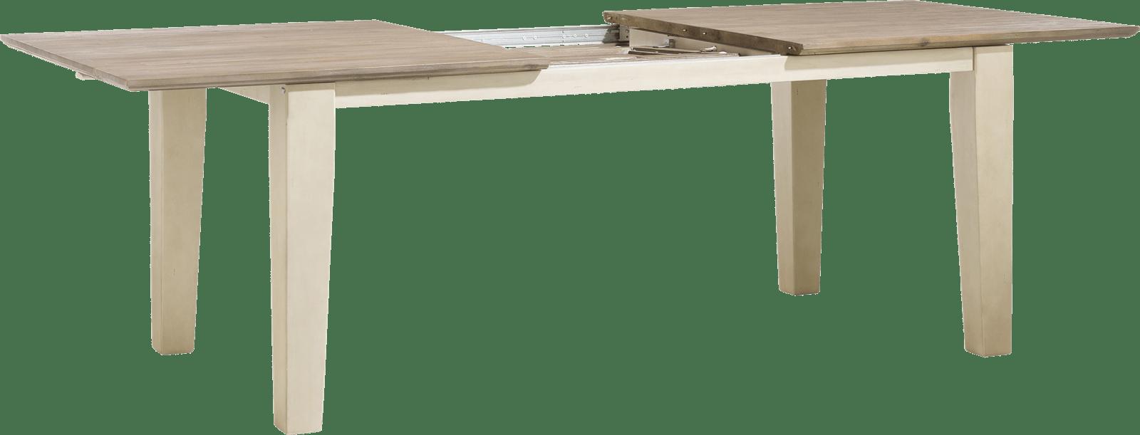Henders and Hazel - Le Port - Landelijk - uitschuiftafel 190 (+ 60) x 100 cm
