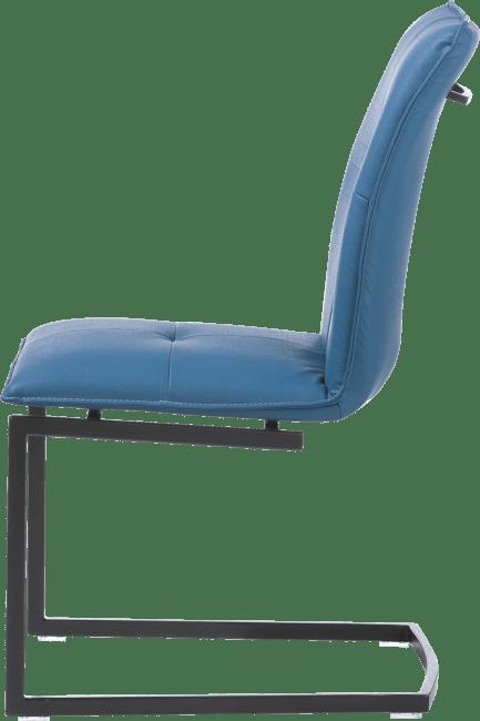XOOON - Mitch - design Scandinave - chaise pied traineau carre powdercoat - moreno