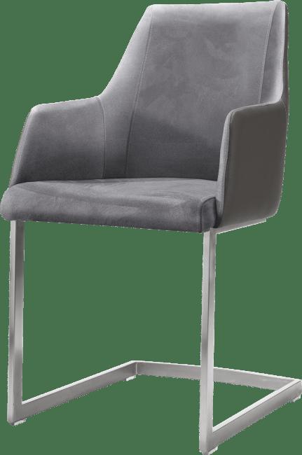 XOOON - Giuliette - Design minimaliste - fauteuil inox