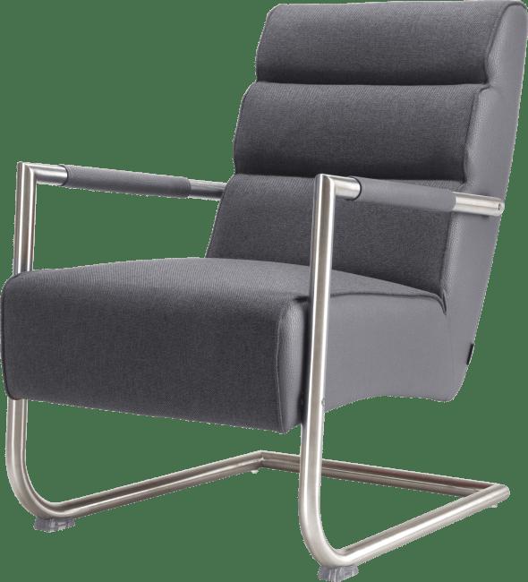 XOOON - Luzern - Design minimaliste - fauteuil - inox