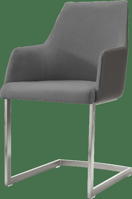 XOOON - Giuliano - Design minimaliste - fauteuil inox