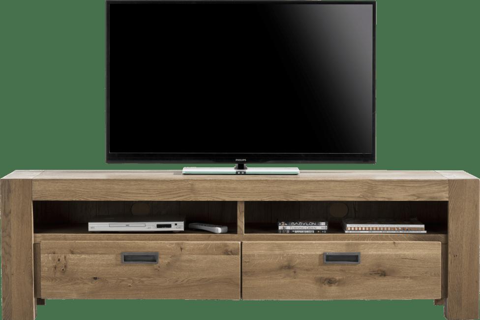 Henders & Hazel - Santorini - Natuerlich - tv-sideboard 180 cm - 2-laden + 2-nischen