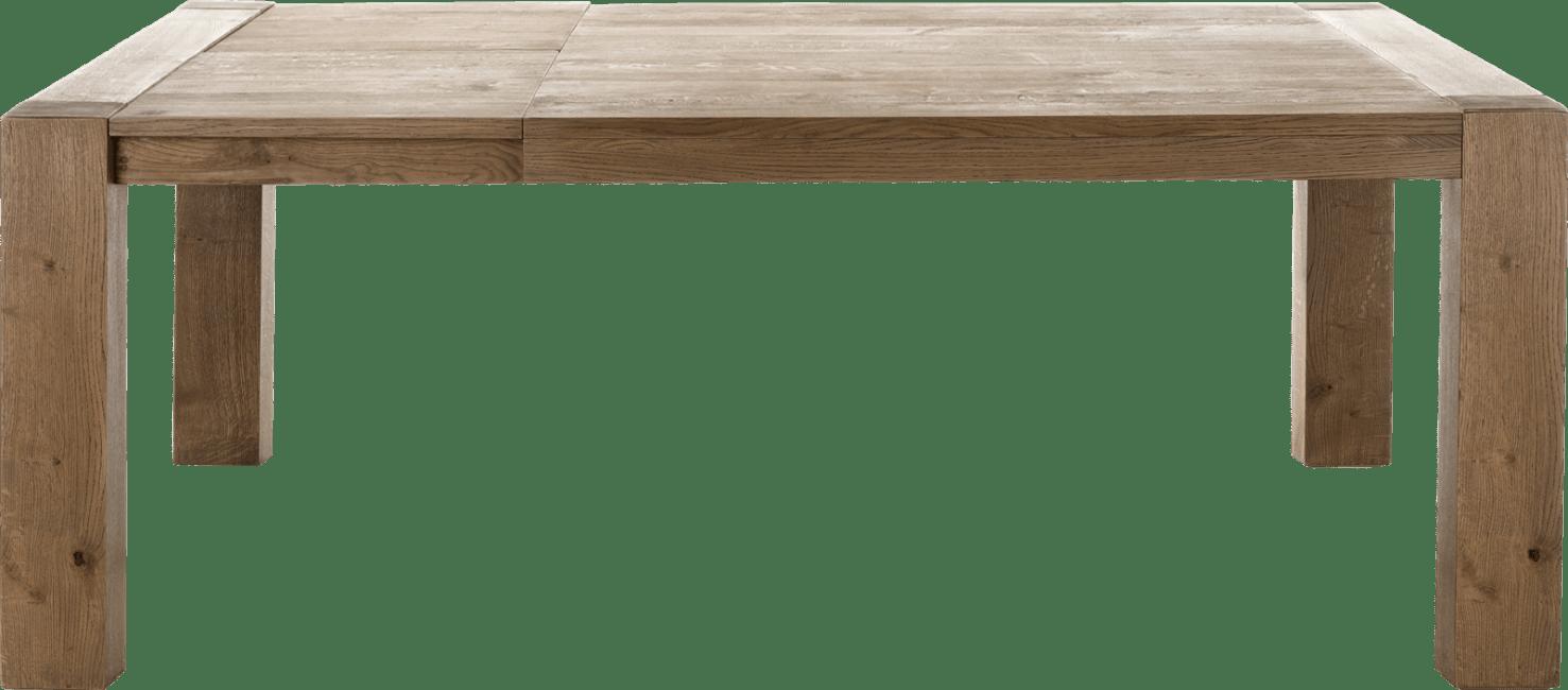 Henders and Hazel - Santorini - Natuurlijk - uitschuiftafel 160 (+ 45) x 140 cm