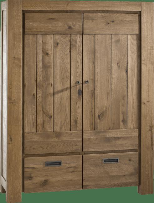 Henders and Hazel - Santorini - Natuurlijk - bergkast 2-deuren + 2-laden