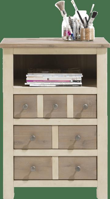 Henders & Hazel - Le Port - Landelijk - ladenkast 59 cm - 3-laden