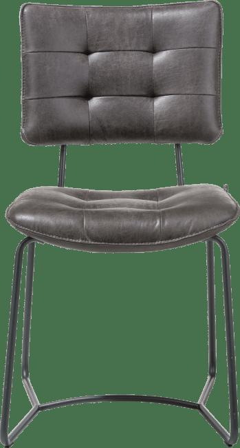 H&H - Julien - Industriel - chaise - cadre noir - corsica